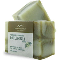 Rocky Mountain Soap Company Soap (Patchouli with Mint) - Bar - Homegrown Foods, Stony Plain