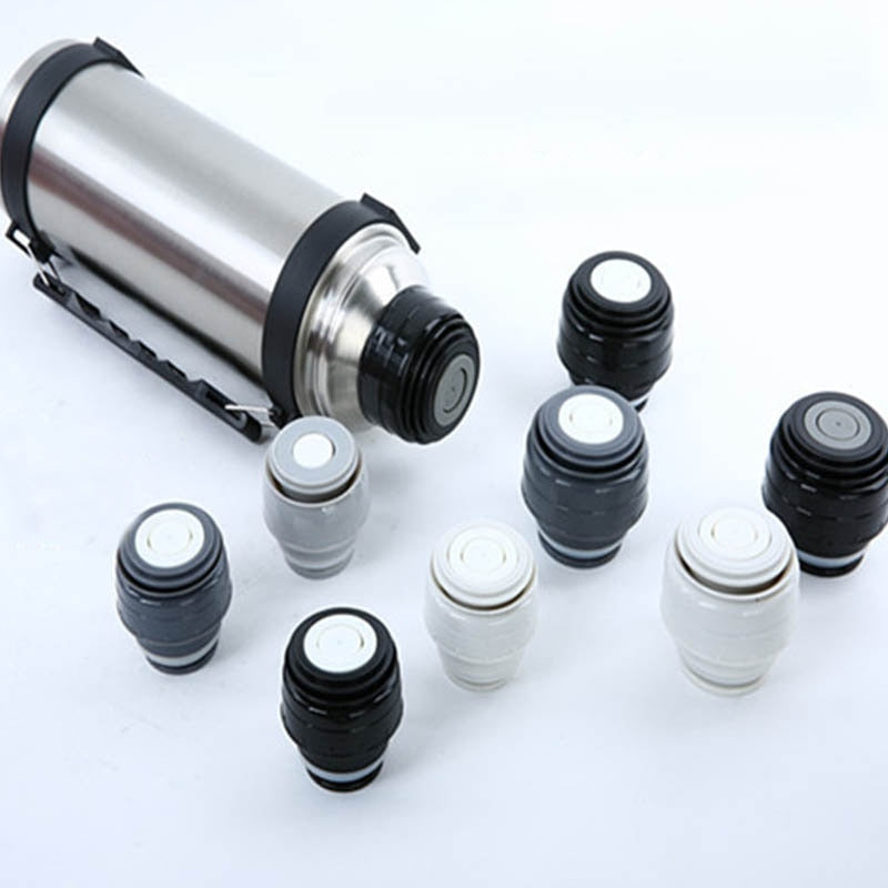 Outdoor Travel Cup Vacuum Flask Lid Universal Drinkware Mug
