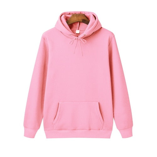 Spring Autumn Male Casual Hoodies Sweatshirts Men's Solid Color Hoodies Sweatshirt Tops