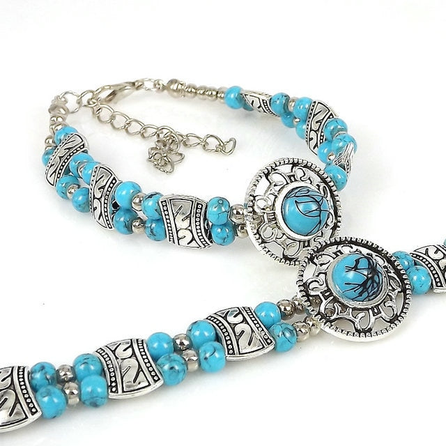4 colors Natural stone Beads Bracelet Strand Bracelets For Women