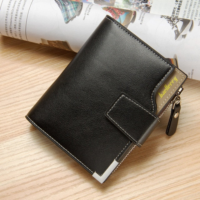 Customized Men Wallets Name Engraving Card Holders