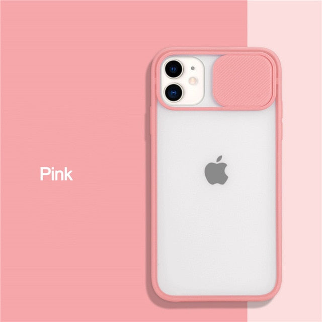 Camera Lens Protect Phone Case For iPhone 11 12 Pro Max