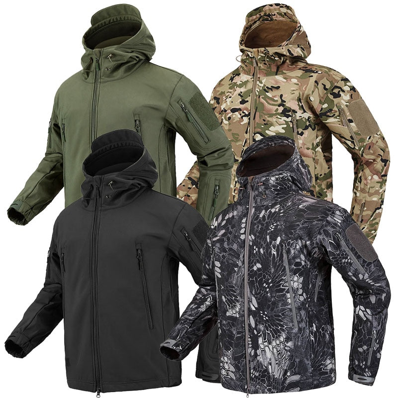Hiking Army Jackets Men Military Airsoft Camping Tactical Jacket