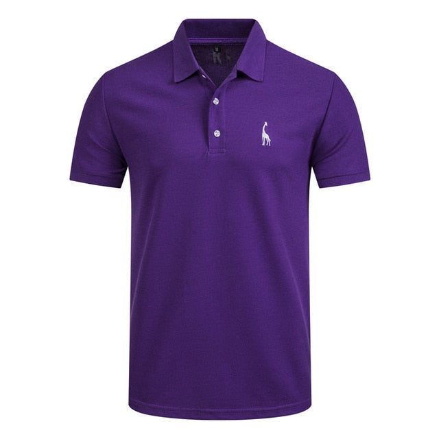 Polo shirt Men Short Sleeve High Quantity polo men