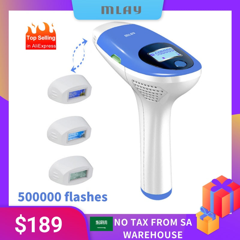 Mlay IPL Hair removal Epilator a Laser Permanent Hair Removal Machine