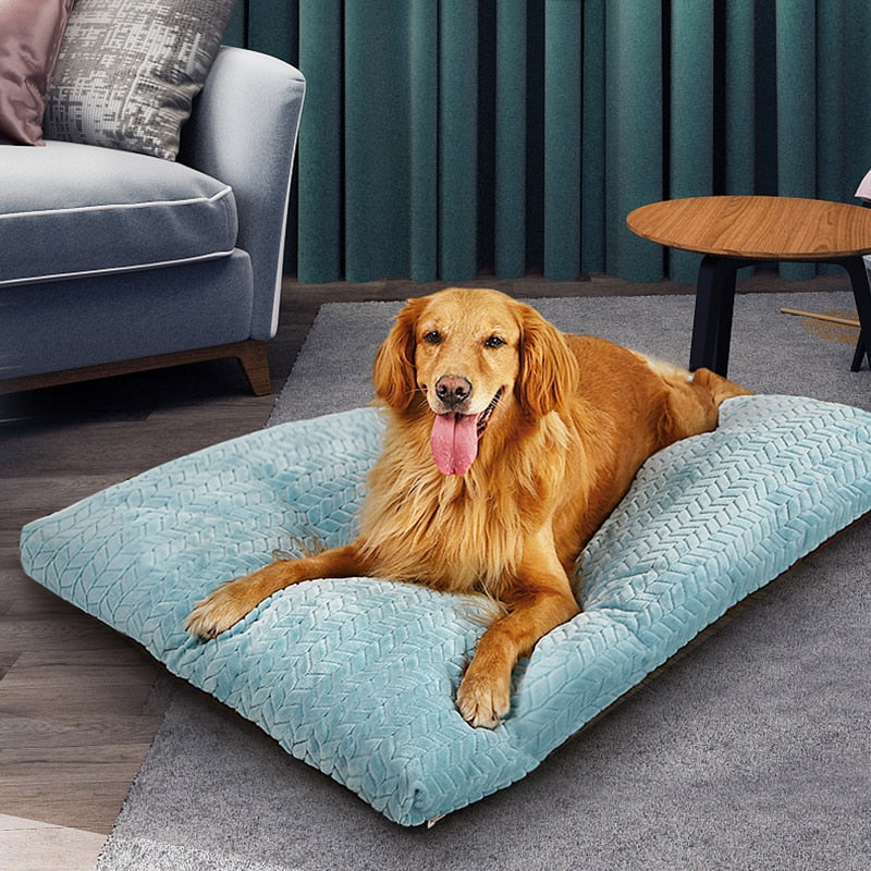 HOOPET Pet Dog Mat Soft Pillow Bed For Dogs Soft Flannel