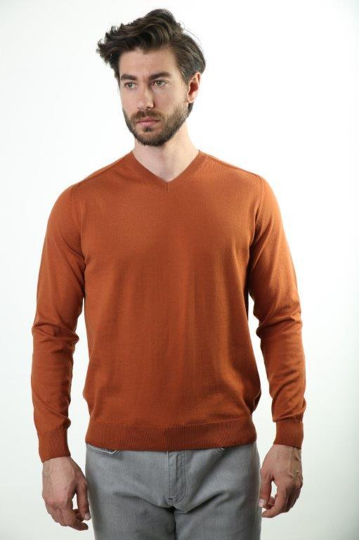 Sweater V-Neck Male Sweater