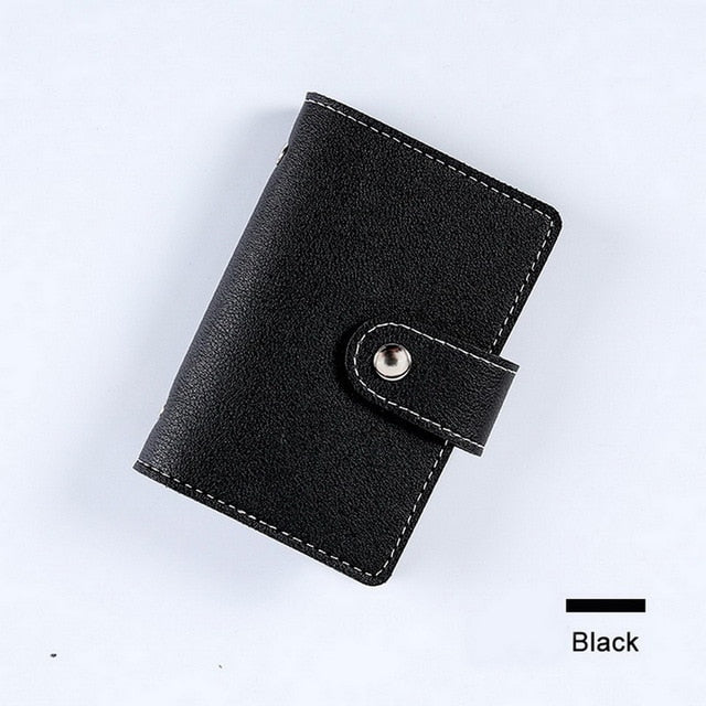 Men Credit Card Holder Leather Purse for Cards Case Wallet for Credit