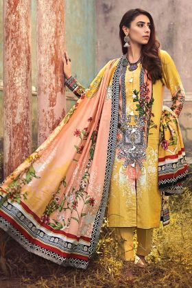 Gul Ahmed Corduroy suit CD-42 Winter Collection 2020