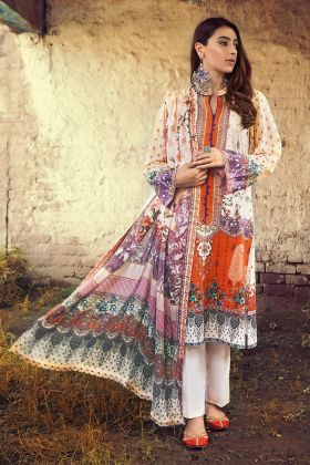 Gul Ahmed Corduroy suit CD-46 Winter Collection 2020
