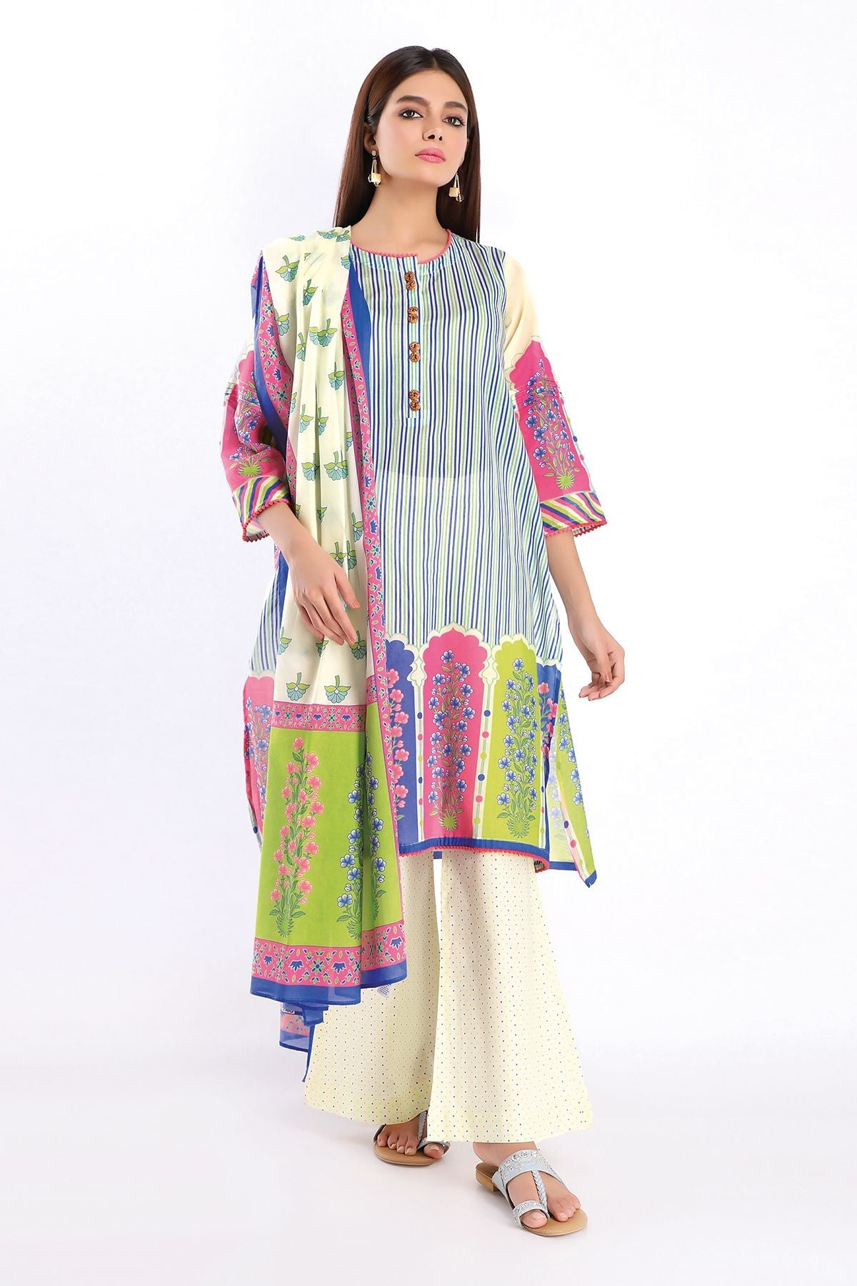 Khaadi A20231 Blue Summer Collection 2020