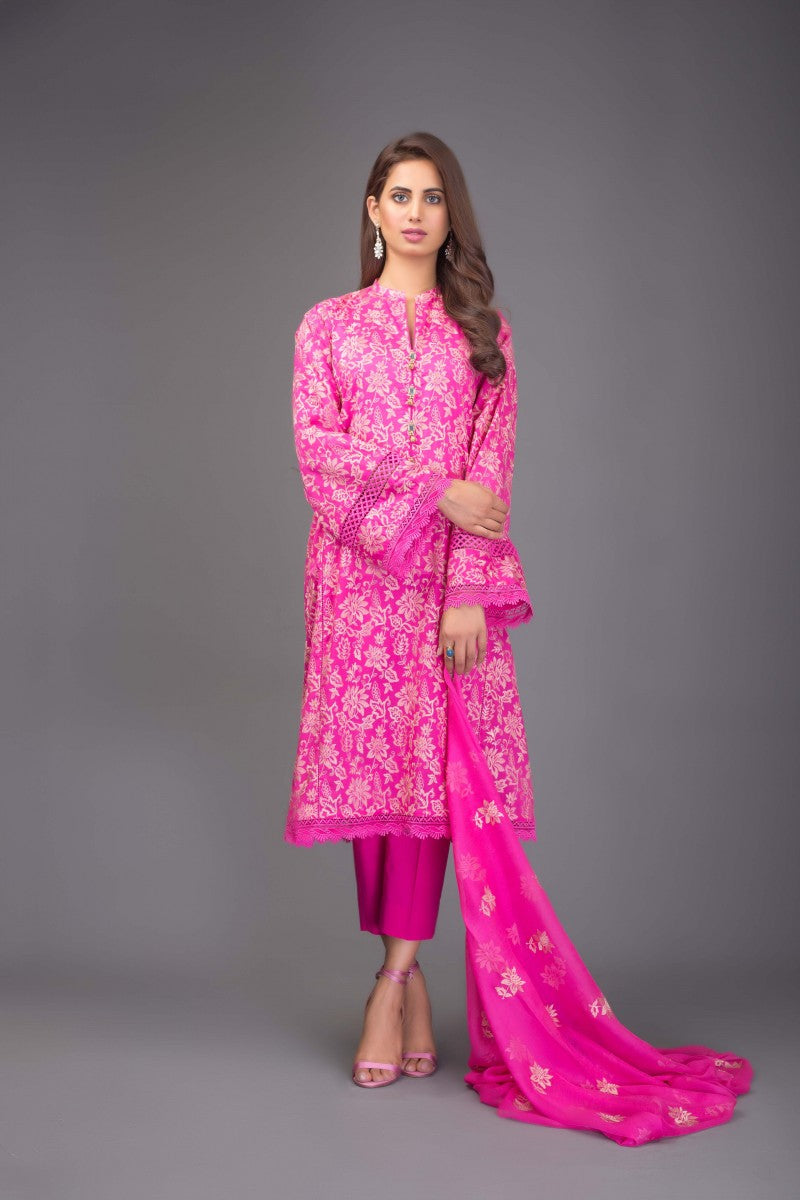 Bareeze Gul E Shams Bnl730 Pink Collection 2021