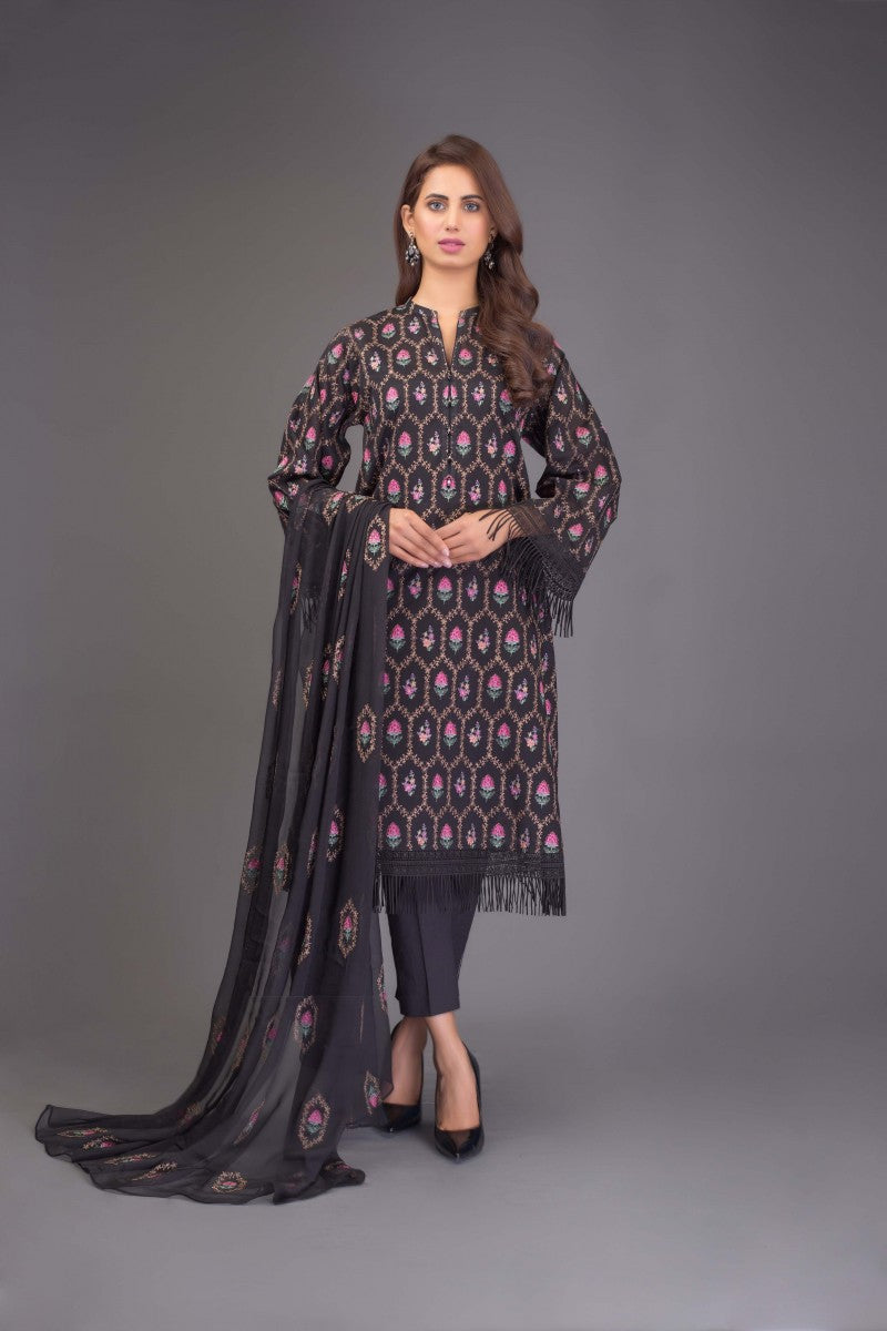 Bareeze Phool Patti Bnl741 Black Collection 2021