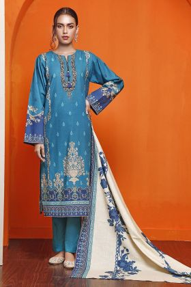 Gul Ahmed Khaddar Suit K-123 Winter Collection 2020