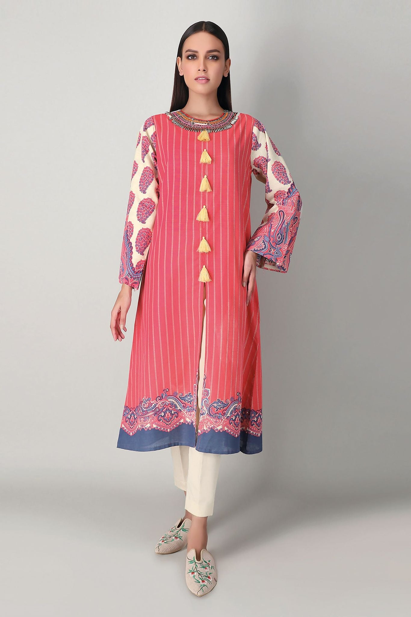 Khaadi Jk20416 Pink Pink Winter Collection 2020