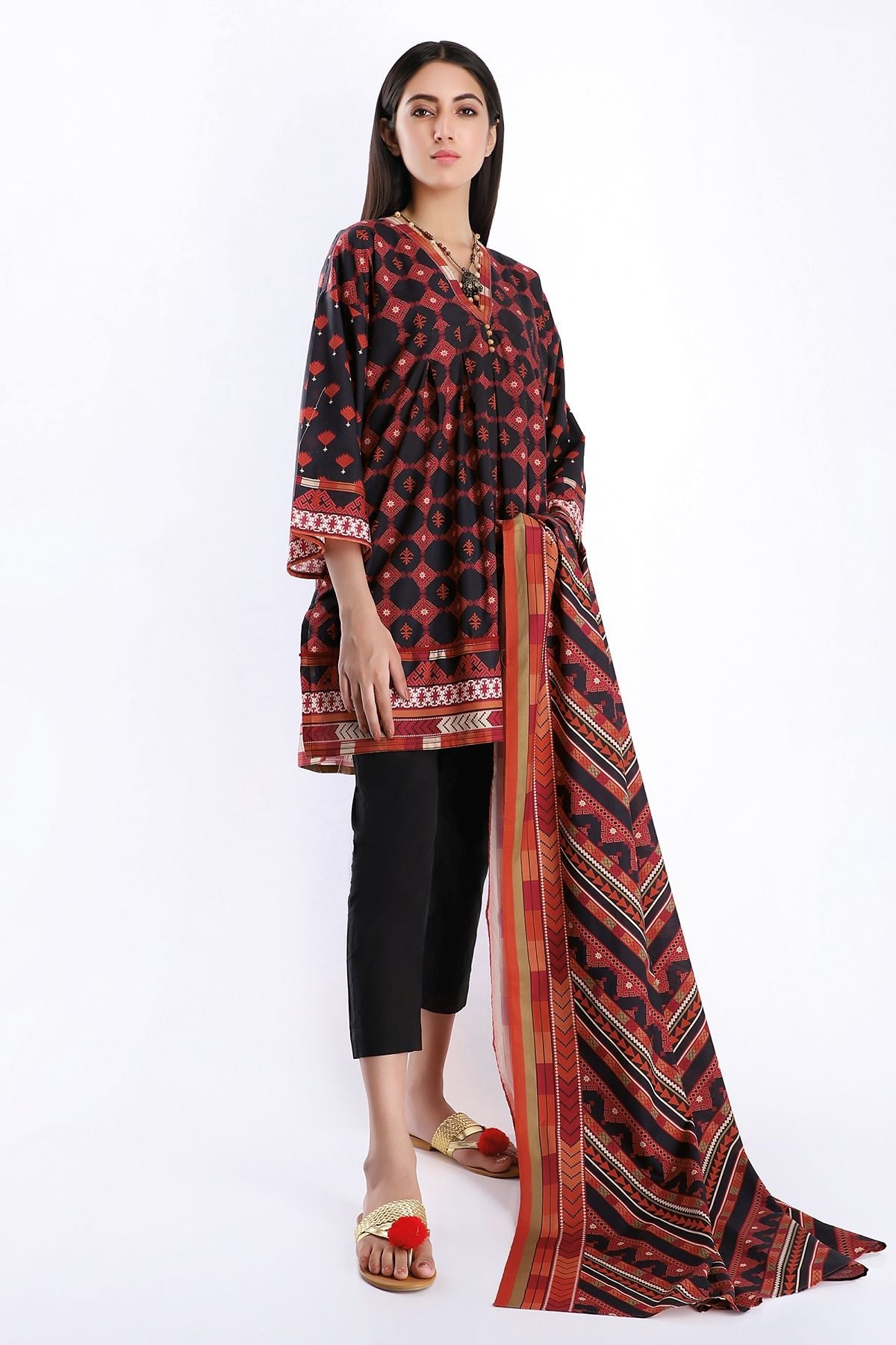Khaadi L20225 Black Summer Collection 2020