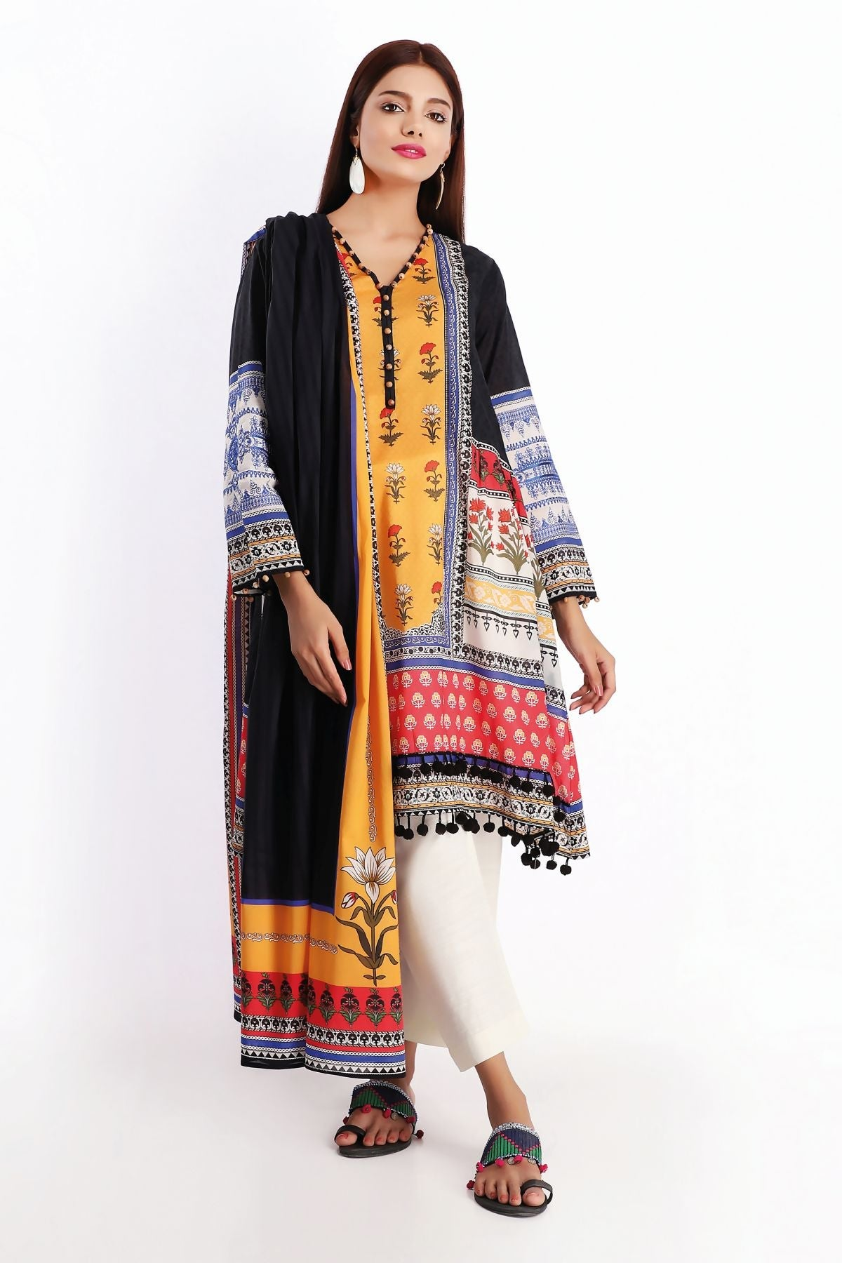 Khaadi M20211 Black Summer Collection 2020