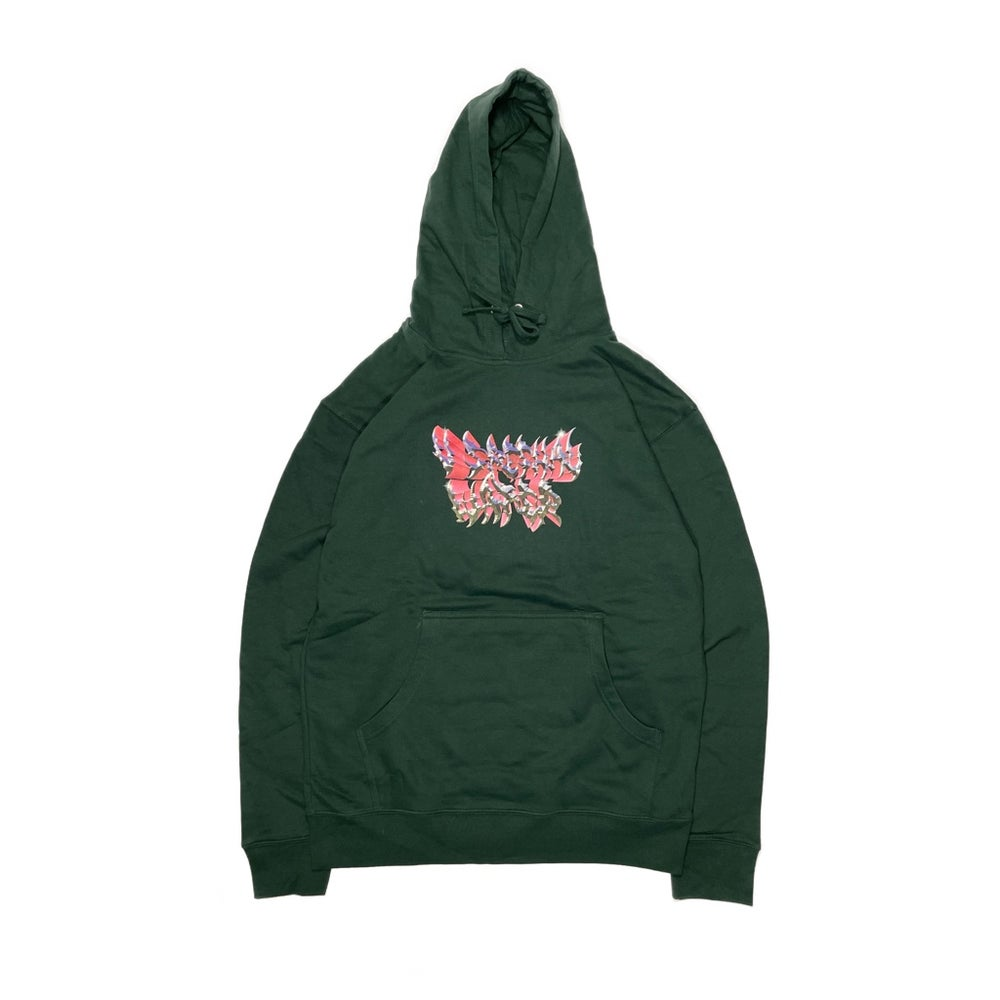 V Speshal Water Hoodie Forest Green