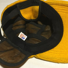 Load image into Gallery viewer, Aya knitted camp hat yellow