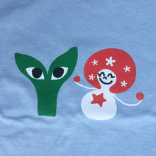 Load image into Gallery viewer, Aapi and Stargirl T-Shirt Air Blue