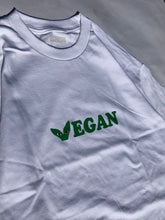 Load image into Gallery viewer, Vegan T Shirt White