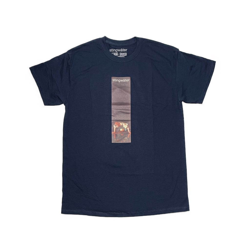 Self-Reflection T Shirt Navy