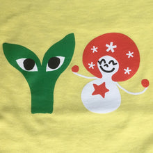 Load image into Gallery viewer, Aapi and Stargirl T-Shirt Light Yellow