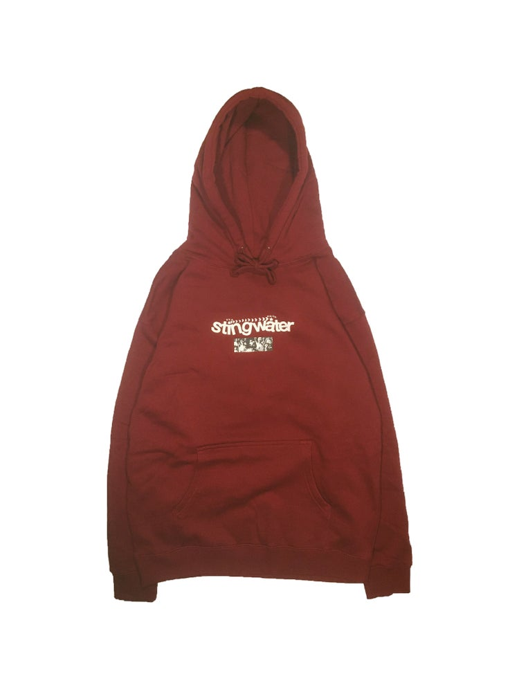 Diagram Hoodie Cranberry Red