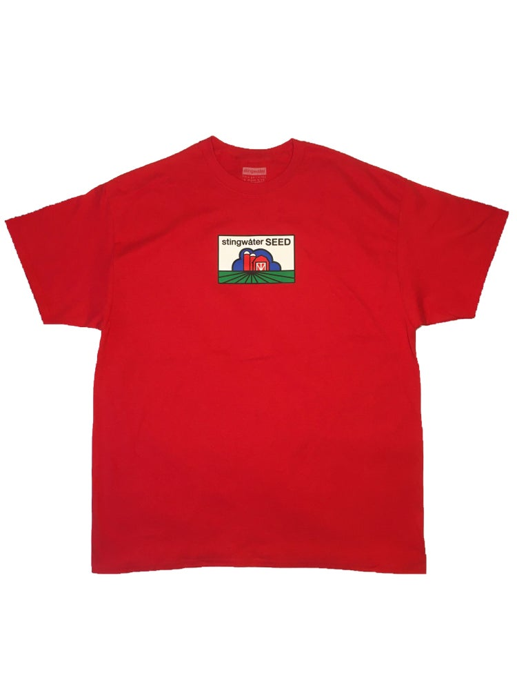 Stingwater Seed T shirt red