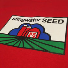 Load image into Gallery viewer, Stingwater Seed T shirt red