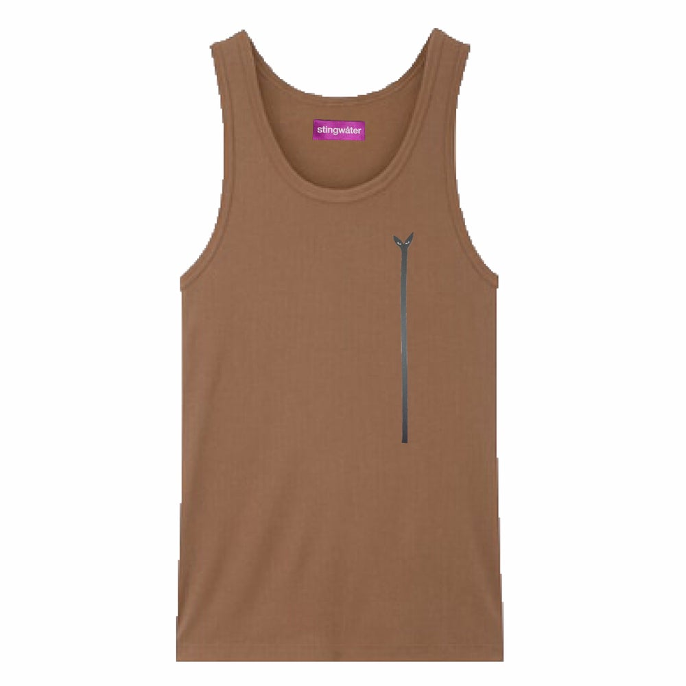 Aya Groeing Tall PURPLE LABEL Tank Top Broewn