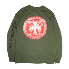 Load image into Gallery viewer, Independent Groeing Company Long Sleeve T Shirt Military Green