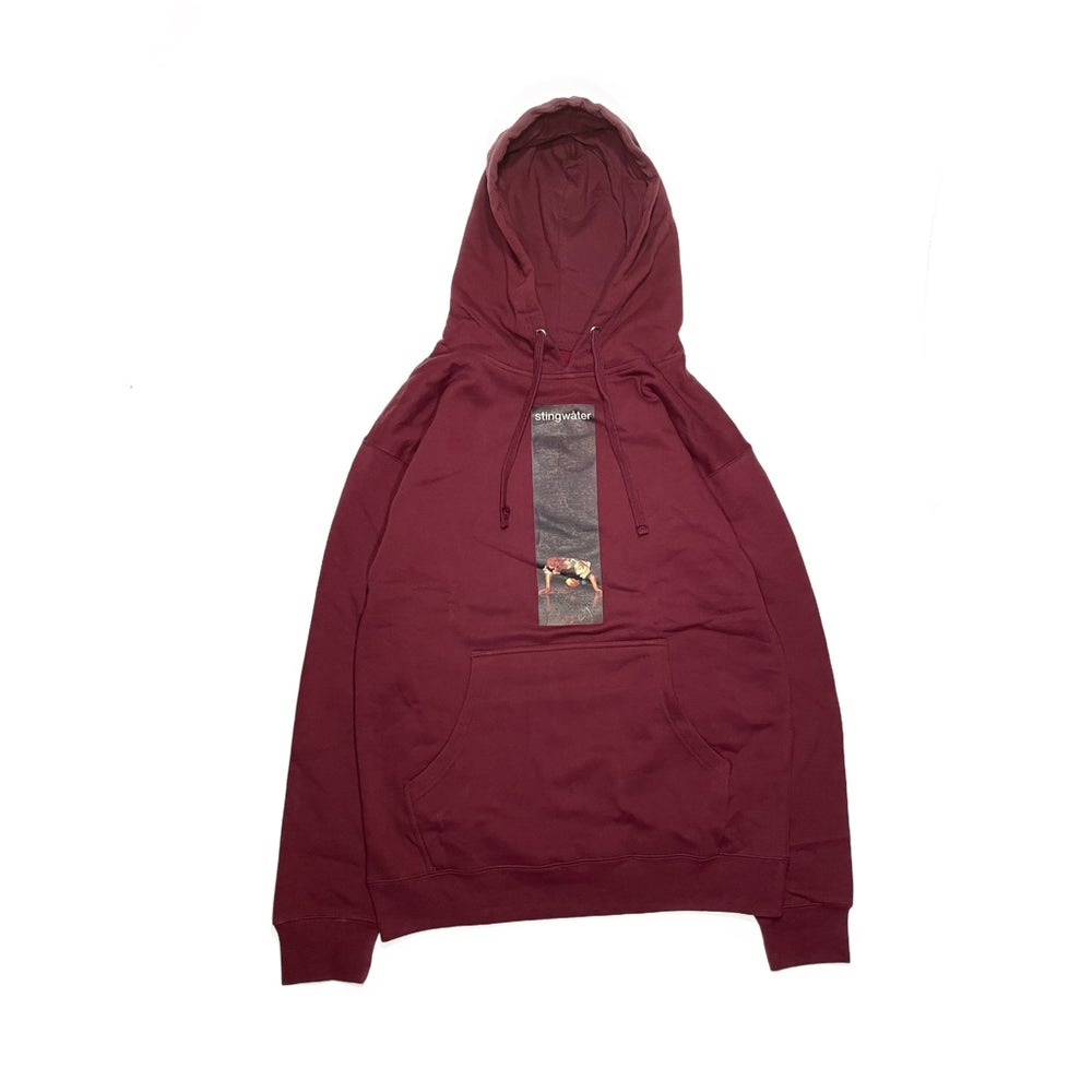 Self-Reflection Hoodie Maroon