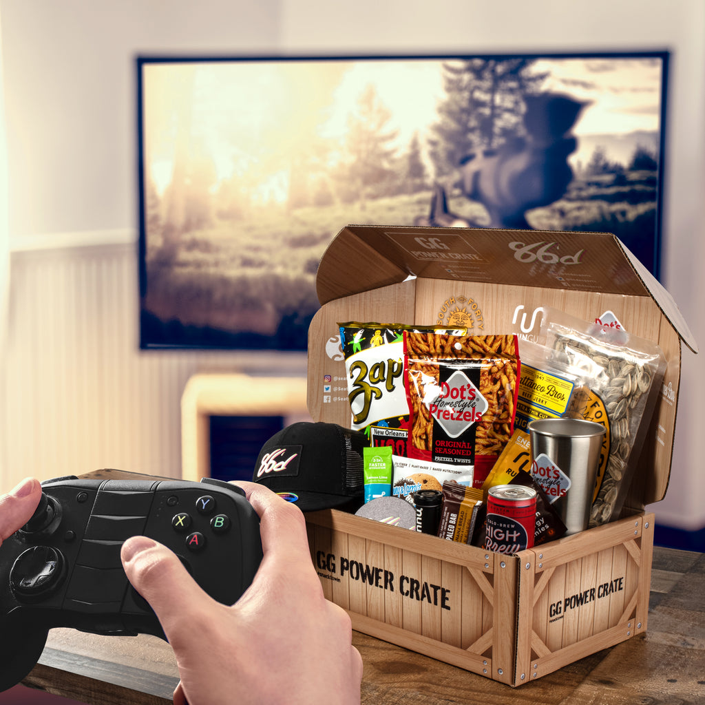About America's Number One Gamer Snack Box – GG Power Crate