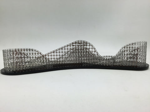Stainless Steel Cyclone Roller Coaster Model