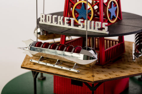 Rocket Ships Model Coasterdynamix