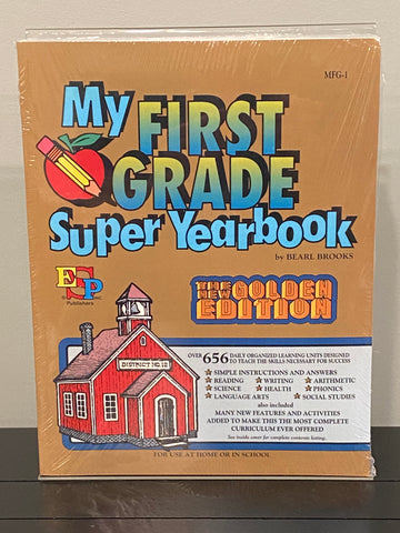 My First Grade Super Yearbook