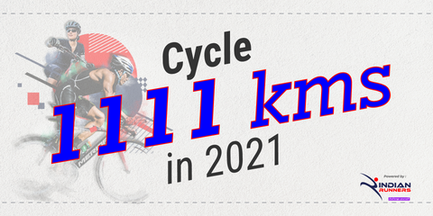 Ride 1111 Kms in 2021