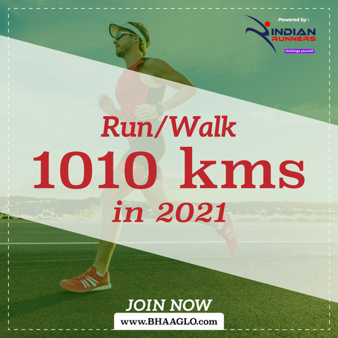 Run 1010 Kms in 2021