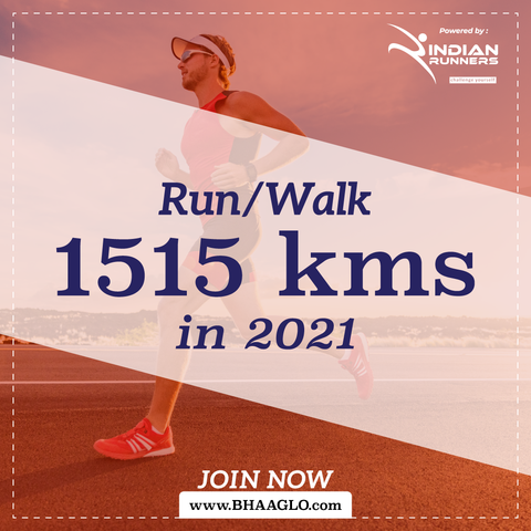 Run 1515 Kms in 2021