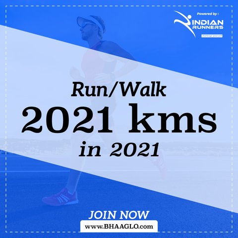 Run 2021 Kms in 2021
