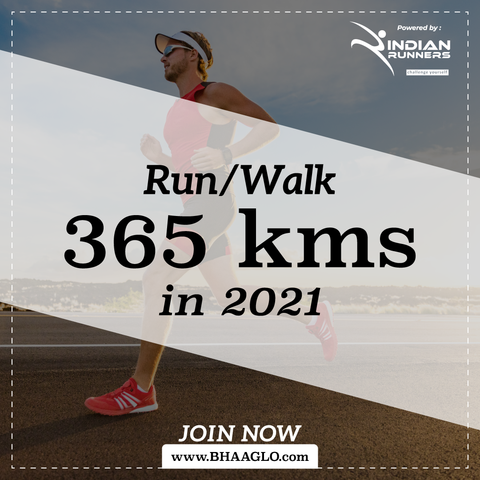 Run 365 Kms in 2021