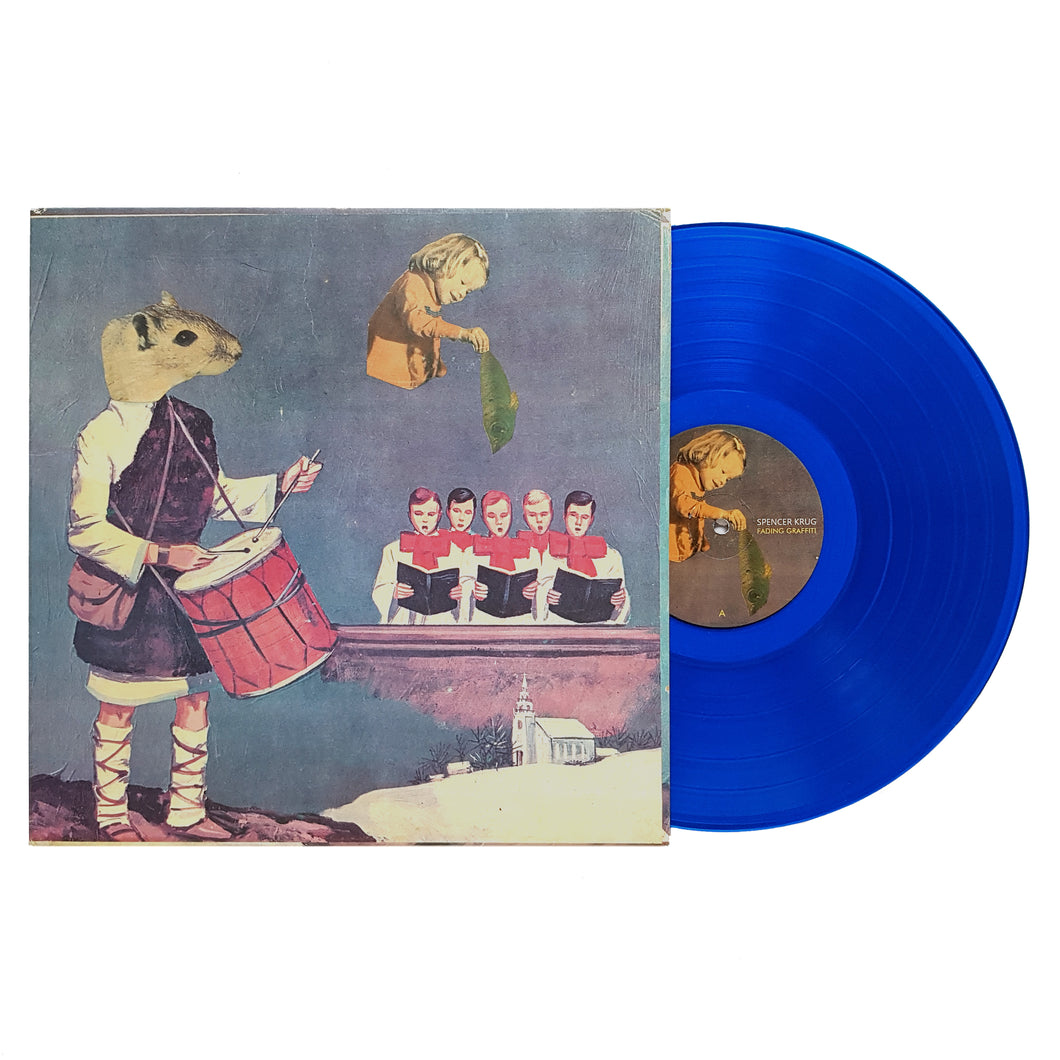 Spencer Krug - Fading Graffiti Blue Vinyl