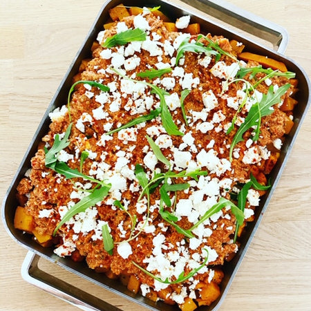 Lasagne butternut - cottage cheese