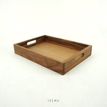 Load image into Gallery viewer, WAKU TEAK WOOD TRAY A4