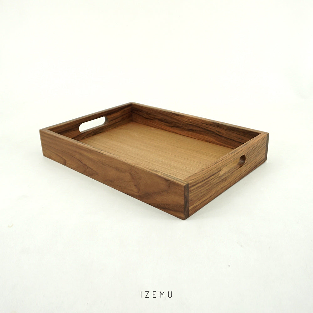 WAKU TEAK WOOD TRAY A4