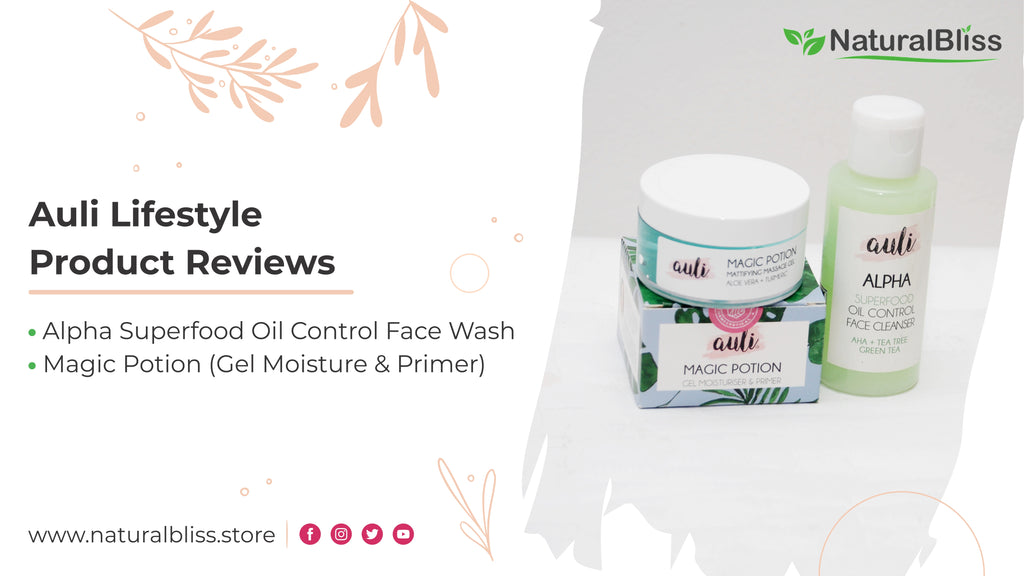 Auli Lifestyle - Magic Potion - AHA Cleanser - Product Review