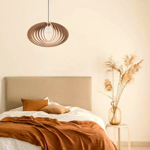 Geometric Wood Lighting | Handmade | Dezaart | ELLIPTIC ORBIT - Dezaart