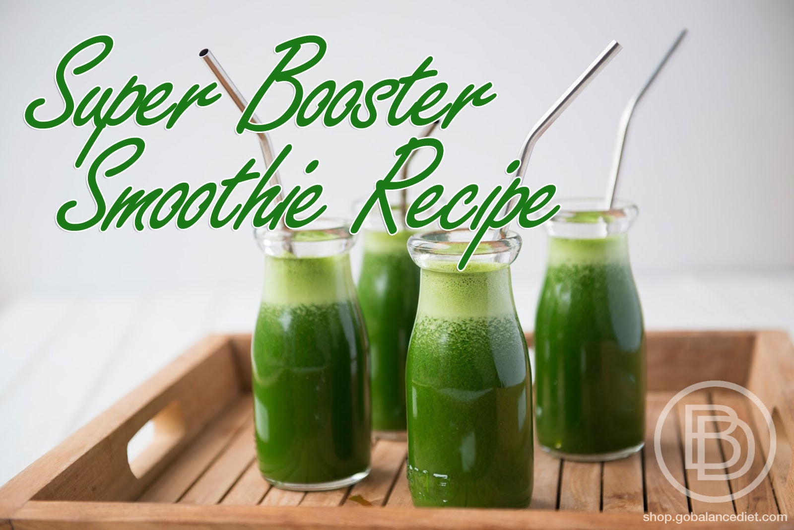 super greens powder smoothie