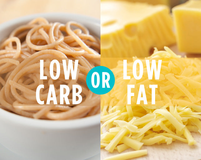 low carb or low fat